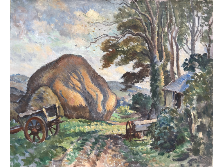 Ethelbert White (1891-1972), the famous painter of the Sussex landscapes between the wars