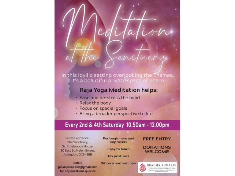 Meditation at The Sanctuary, Abingdon