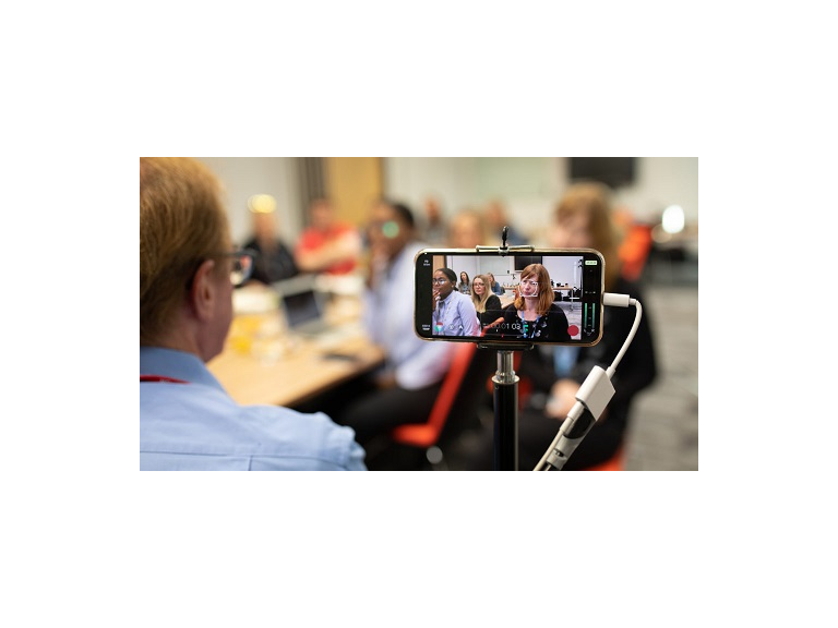 Smartphone workshop - create better filmed video content and make your work look more professional