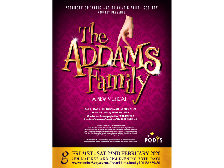 The Addams Family - a new musical