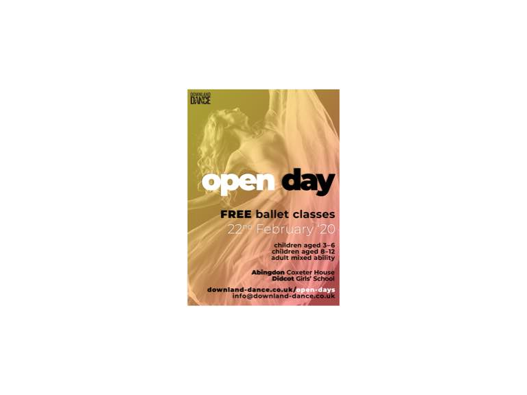Downland Dance Ballet Open Day
