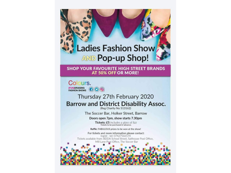 Charity Fashion Show & Pop-up Shop