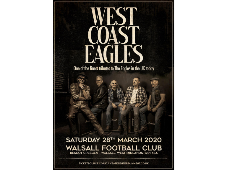 Eagles Tribute 'West Coast Eagles' at Walsall Football Club