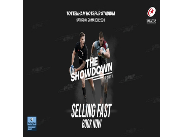 The Showdown - Saracens Vs Harlequins at Tottenham Hotspur Stadium