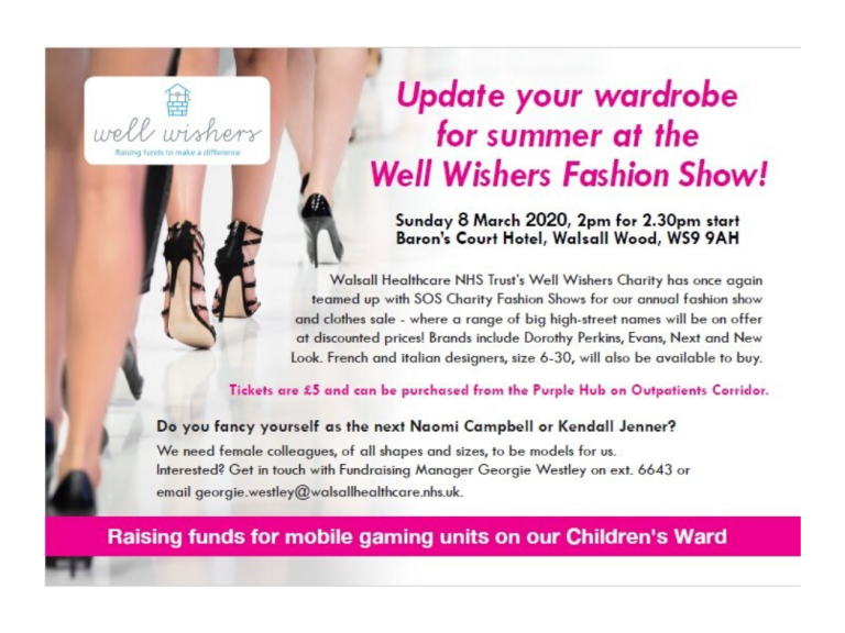 Well Wishers SOS Charity Fashion Show