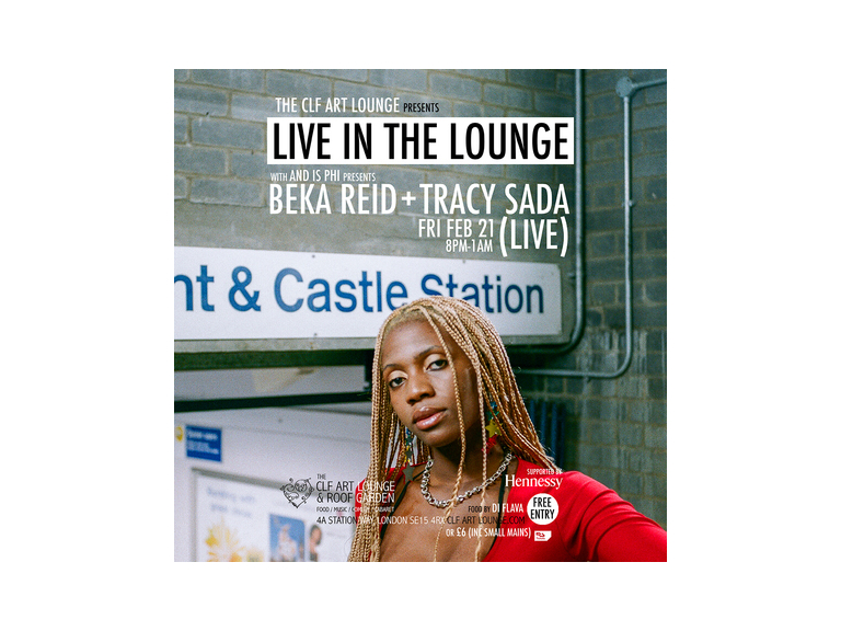 Beka Reid + Tracy Sada - Live in the Lounge Free Entry