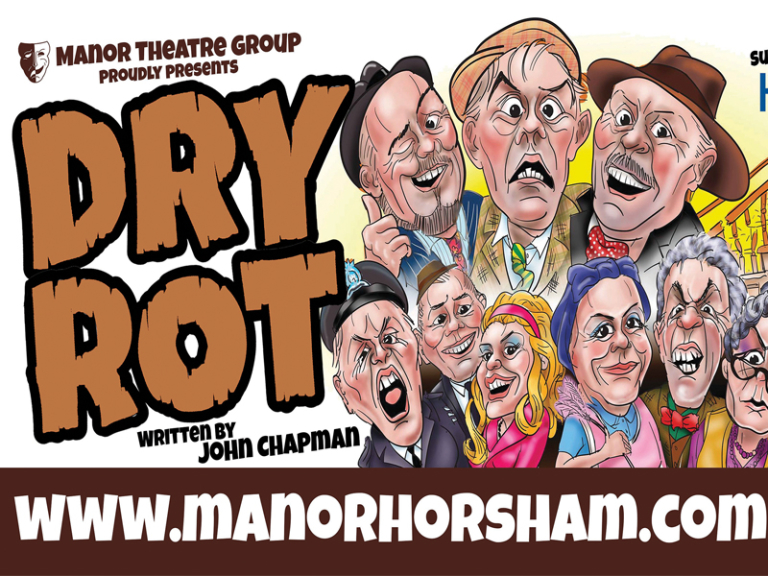 Manor Theatre Group presents 'Dry Rot' by John Chapman
