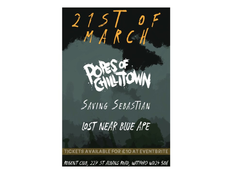 Popes Of Chilltown/Saving Sebastian/Lost Near Blue Ape