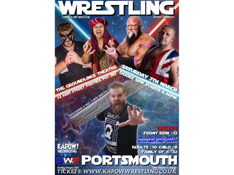 Kapow Wrestling + SWF present GROUNDED