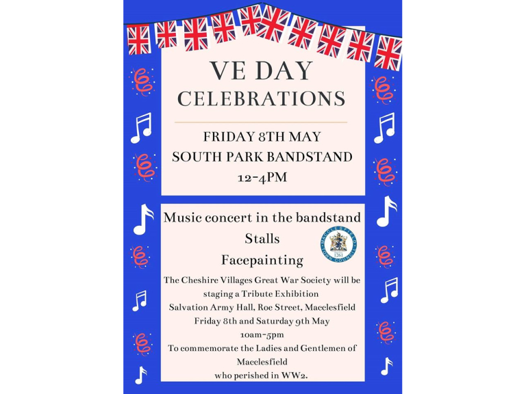 Macclesfield VE Day - 8th May!