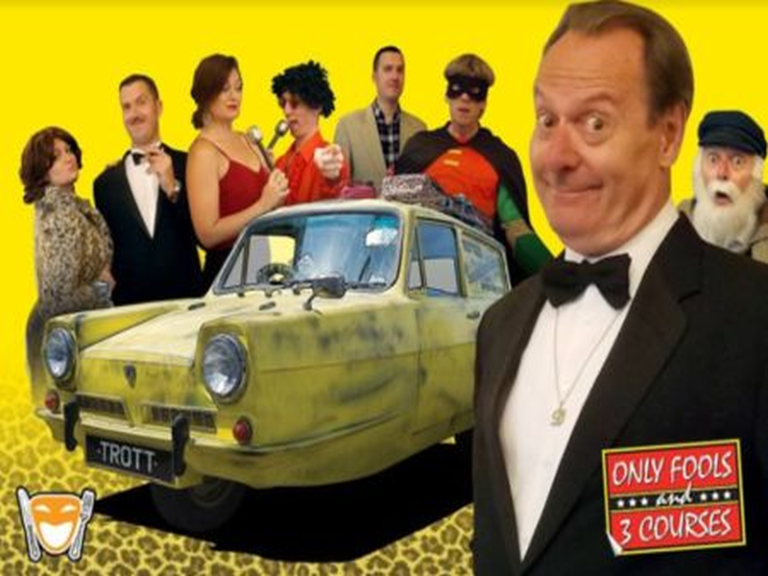 Only Fools and 3 Courses - Crowne Plaza Felbridge 6th June 2020
