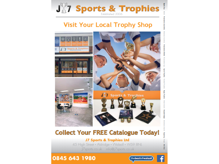Clearance Sale at J7 Sports and Trophies