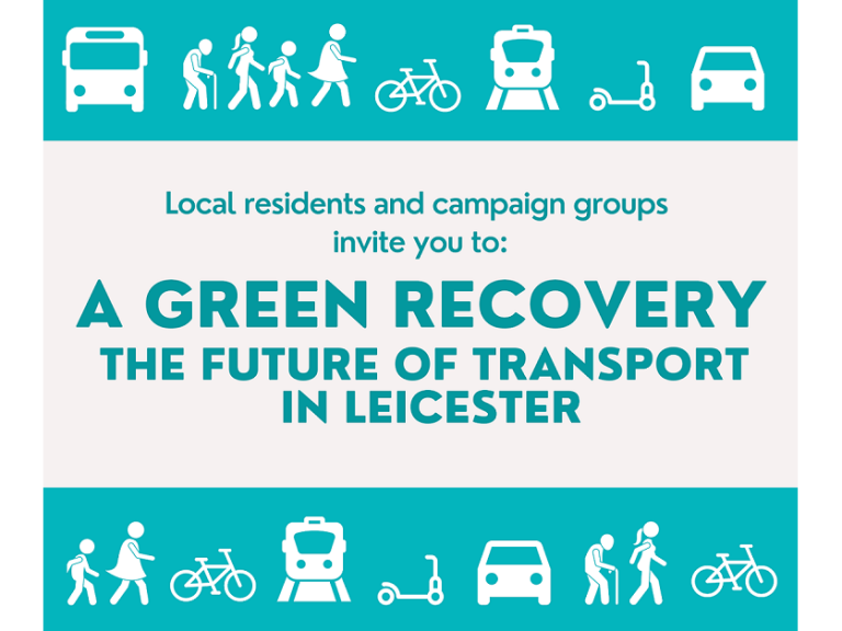 A Green Recovery: The Future of Transport in Leicester
