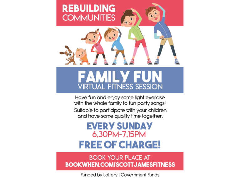 Family Fun Virtual Fitness Session with Darlaston All Active!
