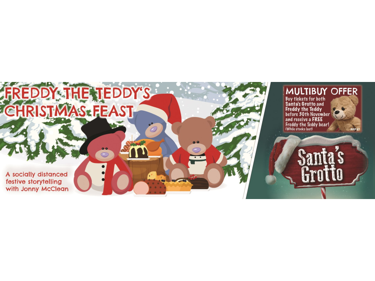 Freddy The Teddy's Christmas Feast