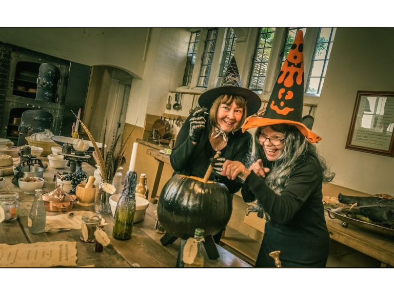 Halloween Fun at Rockingham Castle