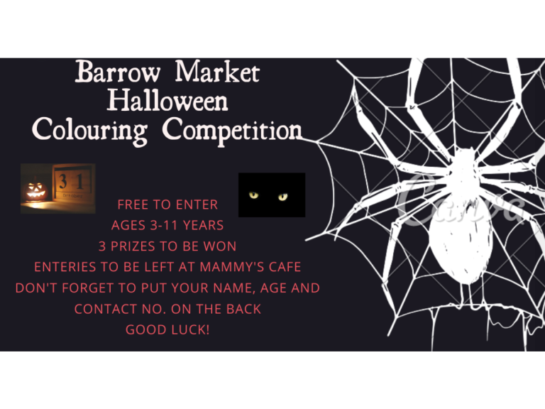 Barrow Market Hall Colouring Competition