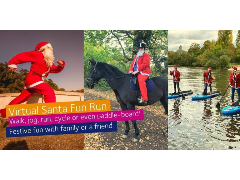 Santa VIRTUAL Fun Run - Princess Alice Hospice @PAHospice #PAHSFR2020 #VirtualFunRun