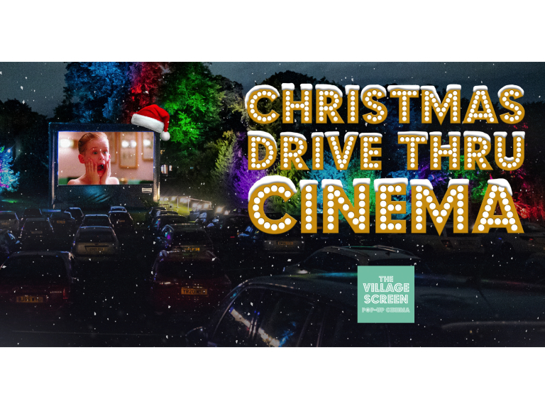Christmas Drive Thru Cinema at Gulliver's Valley