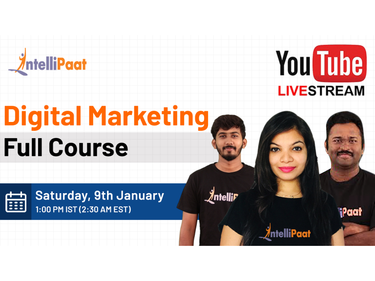 Digital Marketing Course | Digital Marketing Tutorial For Beginners | Digital Marketing