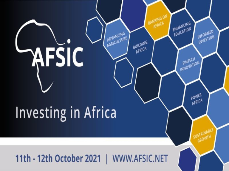 AFSIC 2021 - Investing in Africa Conference, London , October