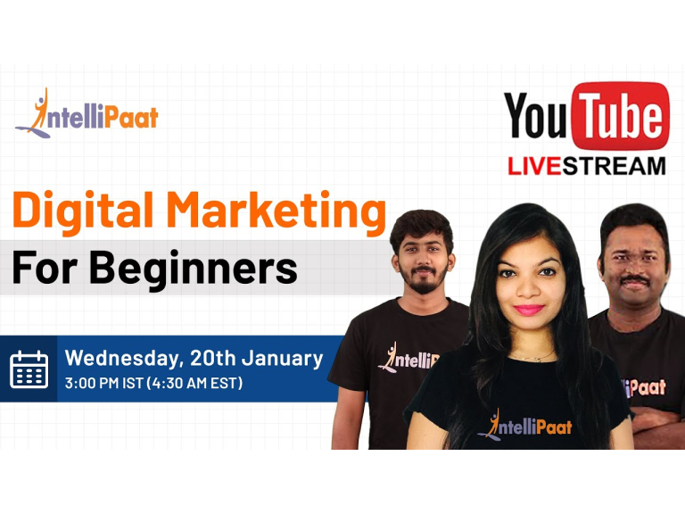Digital Marketing Course | Digital Marketing Tutorial For Beginners | Learn Digital Marketing