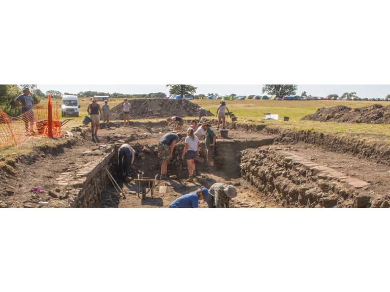 Talk: Excavating the Public Baths of the Roman City at Silchester, Hampshire