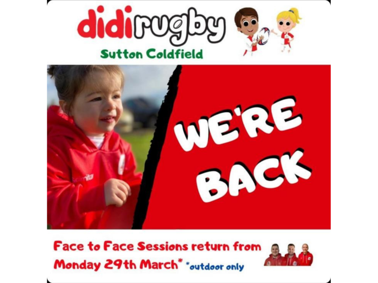 Didi Rugby Sutton Coldfield - Weekly classes!