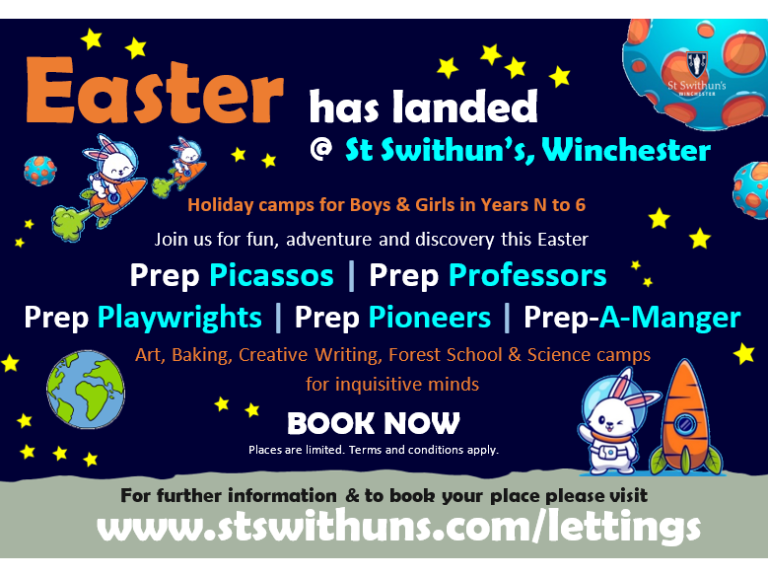 Easter Holiday Courses at St Swithun's School
