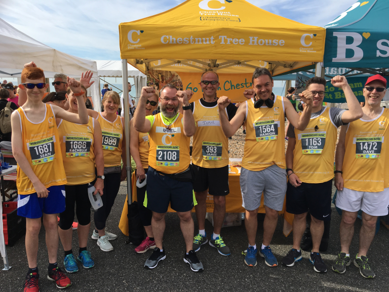 Worthing 10k for Chestnut Tree House or St Barnabas House