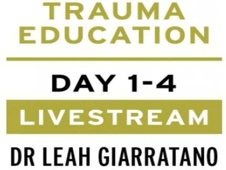Practical trauma informed interventions w/ Dr Leah Giarratano on 22-23 & 29-30 Sep - Wolverhampton