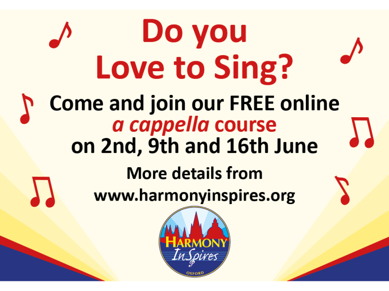 Love to Sing Course - June 2021