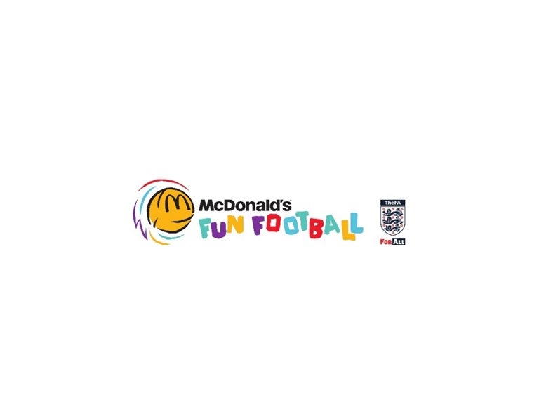 FREE McDonald's Fun Football Sessions in partnership with the FA