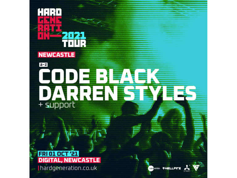 Hard Generation 2021 Tour // Newcastle