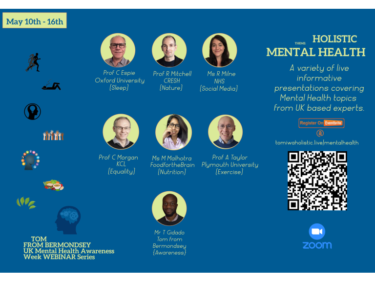 Tom from Bermondsey Mental Health Webinars