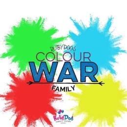 Family Colour War with Ruby Doo!