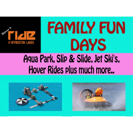 Ride Leisure Family Fun Day St Neots - Friday 28th July 2017