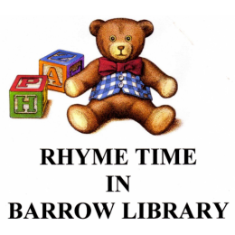 Rhyme Time at Barrow Library