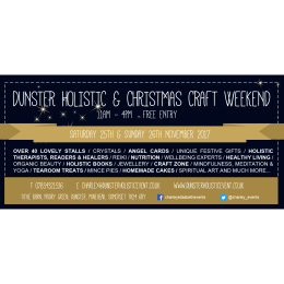 Dunster Holistic & Christmas Craft Weekend 2017