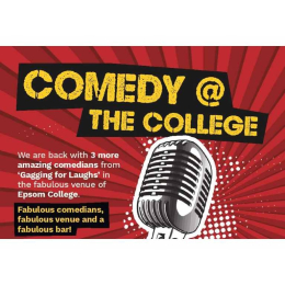 Comedy @ The College in #Epsom  for @AgeConcernEpsom  @EpsomCollegeUK