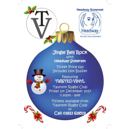 Headway Somerset Jingle Bell Rock Christmas Party