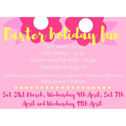 Ooh we do love Easter Holiday Kids Fun at Ooh La La Hair & Beauty #Epsom