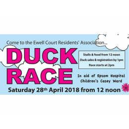 Go Quackers and pick your duck! -- Ewell Court Residents Annual Duck Race #ewellduckrace