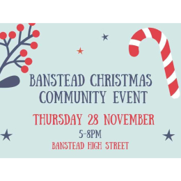 Banstead Christmas Community Event @BansteadRotary @BansteadGuild @BansteadHighst