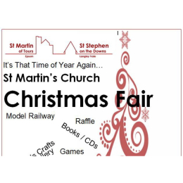 Christmas Fair at St Martin's in Epsom #christmasfair
