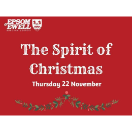 The Spirit of Christmas – Tree Lights switch on and Santa's Grotto in Epsom