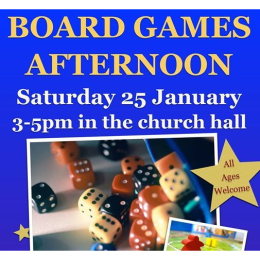 Board Games Afternoon at St Mary's #Ewell