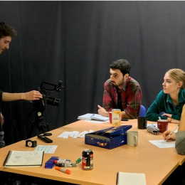 One term weekdays course - learn how to film, edit, and all aspects of TV production
