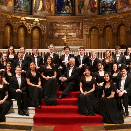 Free concert by Stanford Chamber Chorale (USA)