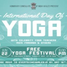 FREE International Day of Yoga in Cardiff